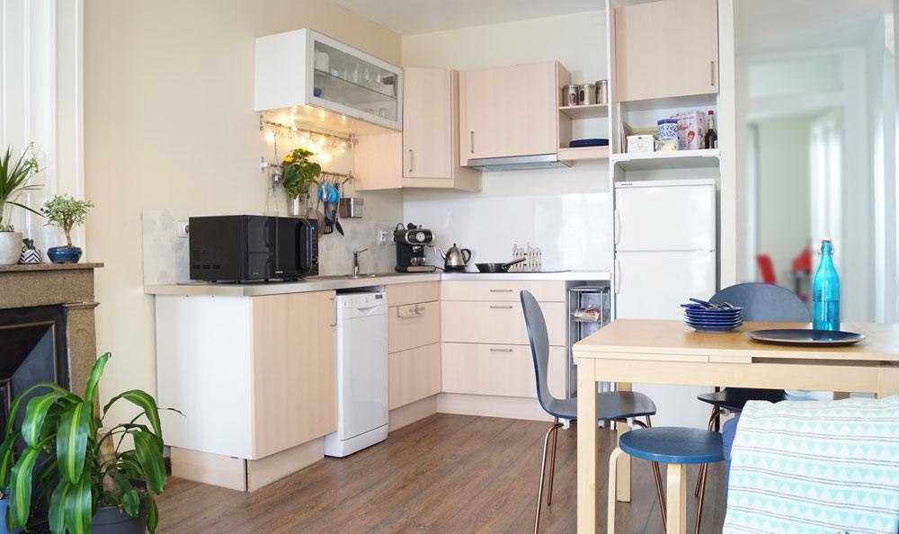 appartement optimisé Lyon avec cuisine ouverte