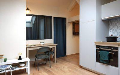 Aménagement appartement sous les combles